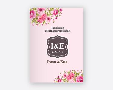 Buku Tasyakur Menjelang Pernikahan 03